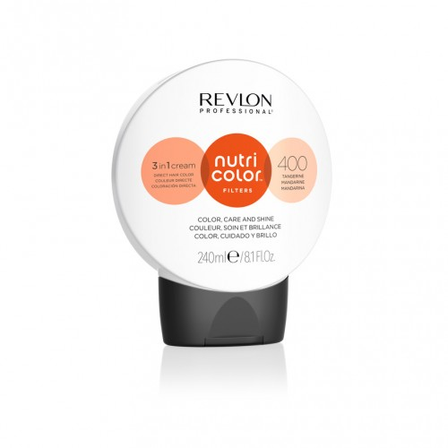 Revlon Nutri Color Fashion Filters 400 - Tangerine 240ml