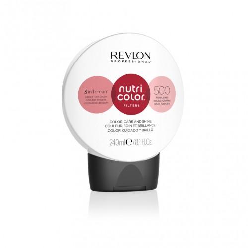 Revlon Nutri Color Fashion Filters 500 - Purple Red 240ml