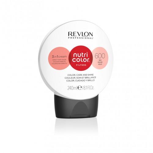 Revlon Nutri Color Fashion Filters 600 - Red 240ml
