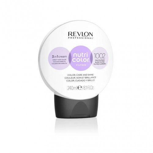 Revlon Nutri Color Toning Filters 1002 - Pale Platinum 240ml