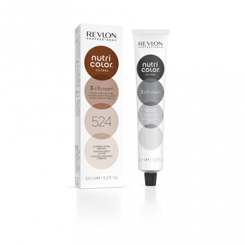 Revlon Nutri Color Toning Filters 524 - Coppery Pearl Brown 100ml