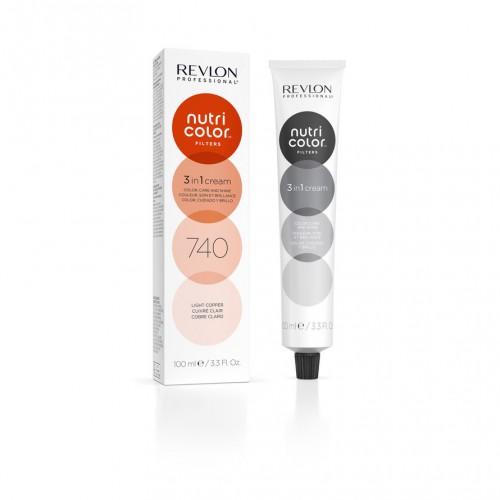 Revlon Nutri Color Toning Filters 740 - Light Copper 100ml