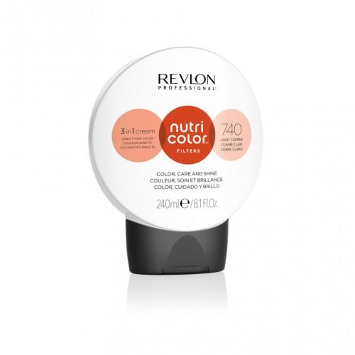 Revlon Nutri Color Toning Filters 740 - Light Copper 240ml