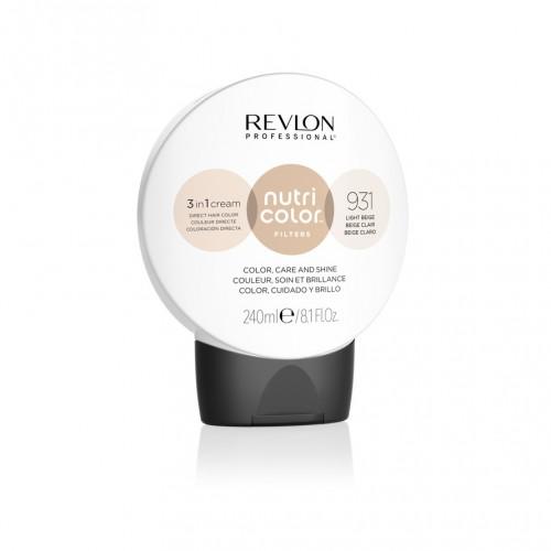 Revlon Nutri Color Toning Filters 931 - Light Beige 240ml