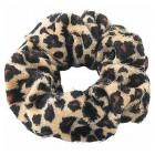 Scrunchie hårelastik - Leopard