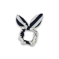 Scrunchie med sløjfe - Sailor Stripes