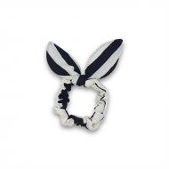 Scrunchie med sløjfe - Sailor Stripes