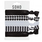 SOHO® Hair Ties no. 10 - BLACK N' WHITE