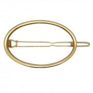 SOHO® oval hårspænde - guld