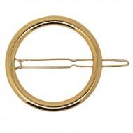 SOHO® cirkel hårspænde - guld