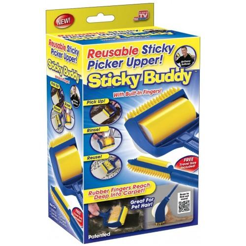 Sticky Buddy Fnugrulle & Støvfjerner Sæt
