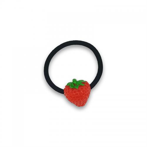 Jordbær Hårelastik