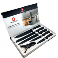 Swiss Chef Kokke Køkkenknivsæt - 6 dele (nonstick)