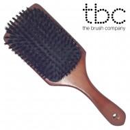 TBC® Boar Bristle Brush - pladebørste med vildsvinehår
