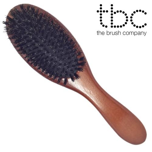 TBC® Boar Bristle Classic - Hårbørste med vildsvinehår