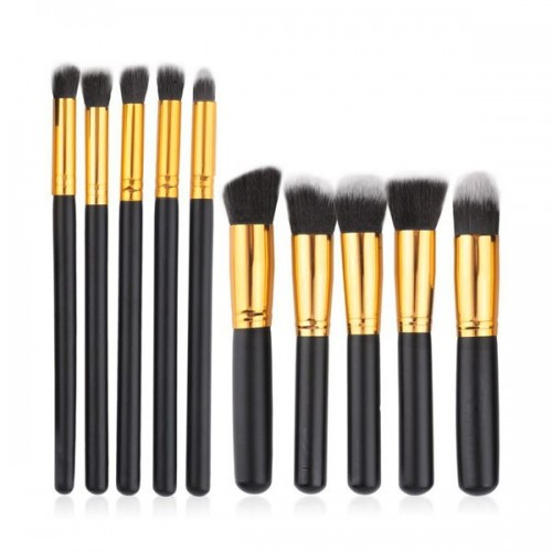 Pro® Makeupbørster - 10 stk