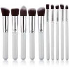 Technique PRO® Makeupbørster, Silver edition - 10 stk