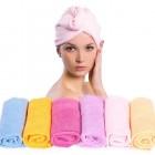 Turban Microfiber Håndklæde til dit hår - Til børn