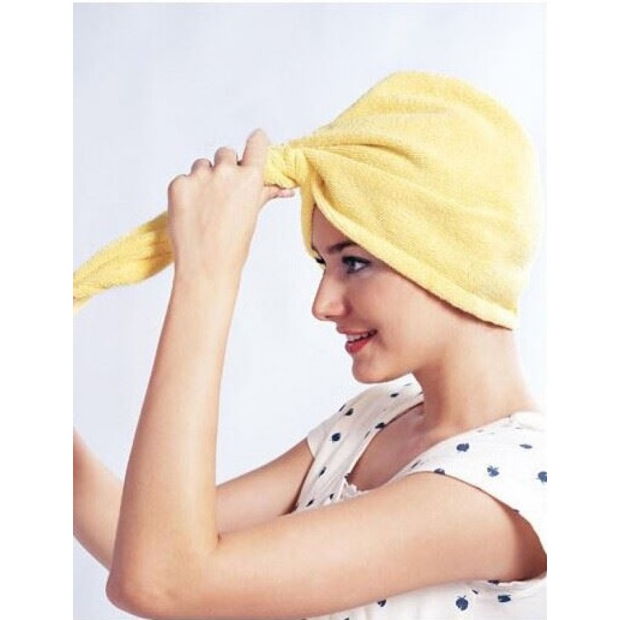 microfiber håndklæde hår