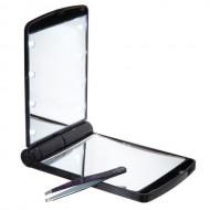 Uniq® Lommespejl / Makeup Spejl med LED Lys