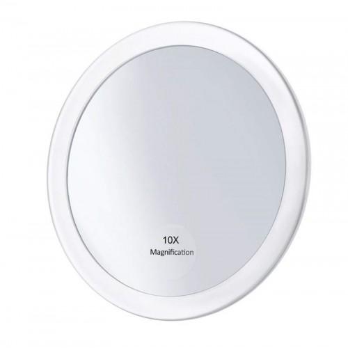 UNIQ Makeup Spejl m. sugekop - Hvid
