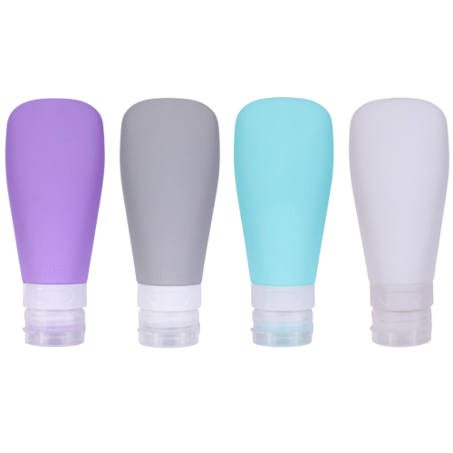 UNIQ Silikone Rejseflaske Sæt - 4 tuber (90ml)