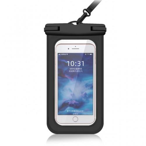 Vandtæt smartphone etui til vand og sportsaktiviteter - Sort