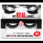 W7 Get Real Lashes Kunstige Øjenvipper med Lim - HL01