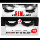 W7 Get Real Lashes Kunstige Øjenvipper med Lim - HL02