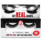 W7 Get Real Lashes Kunstige Øjenvipper med Lim - HL04
