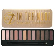 W7 In The Nude øjenskygge palette