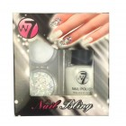 W7 Nail Bling - White Night gaveæske