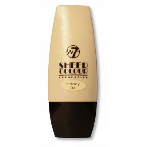 W7 Sheer Foundation Honey