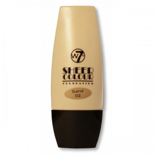 W7 Sheer Foundation Sand