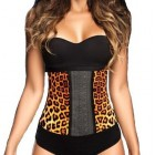 AVA®  Waist Trainer i Latex - leopard