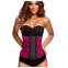 AVA® Waist Trainer i Latex - Pink leopard