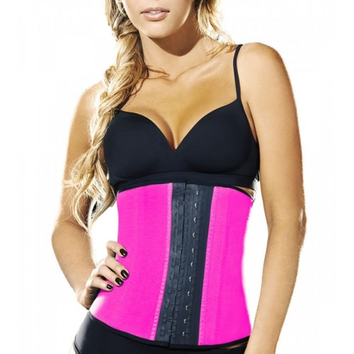 AVA® Waist Trainer i Latex - Pink