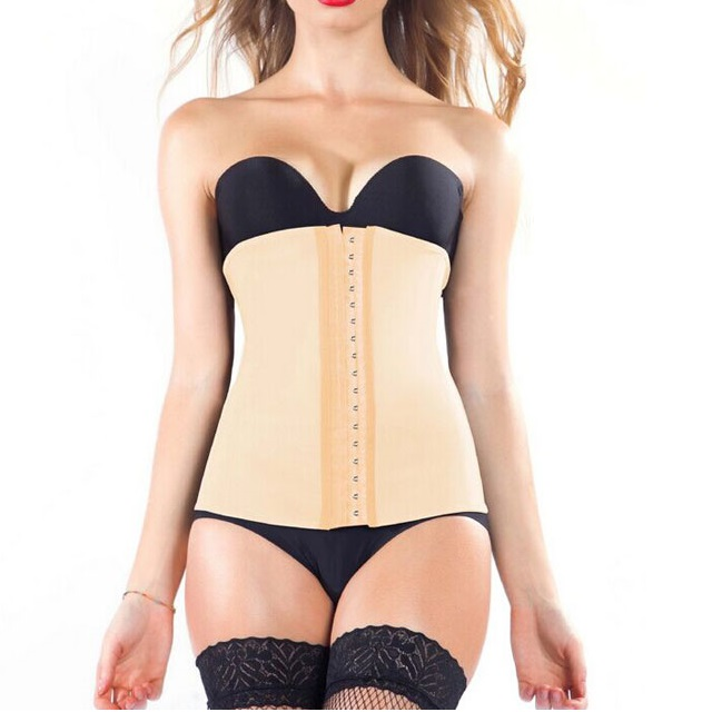 Image of   AVA® Waist Trainer i Latex - Nude
