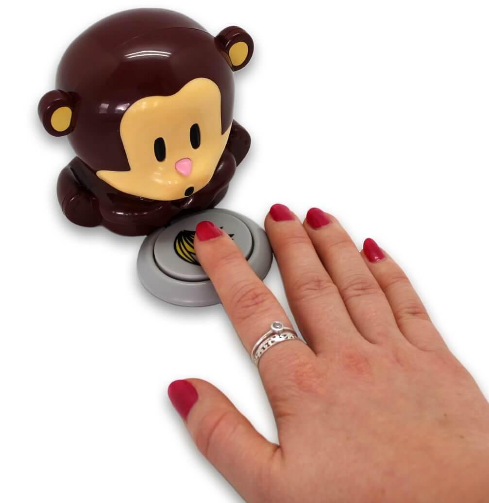 Pusteabe der kan tørre neglelak hurtigt.
