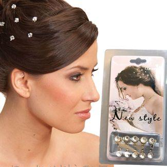 Image of   Hair Bling - Diamanter til håret (10 stk)