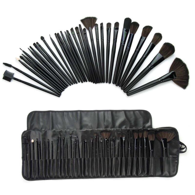 Technique PRO® 32 Set Makeup Børste sæt - 32 dele i sort