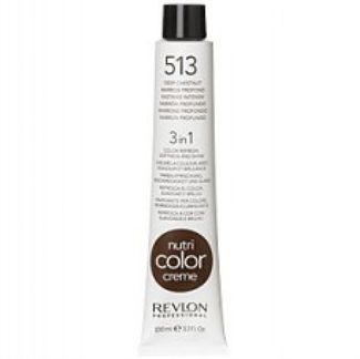 Revlon Nutri Color Creme tube 100 ml. No 513 Deep Chestnut