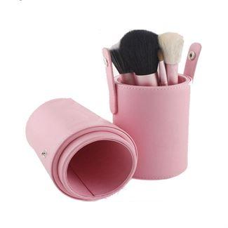 Image of   Makeup Børster - 12 dele i pink