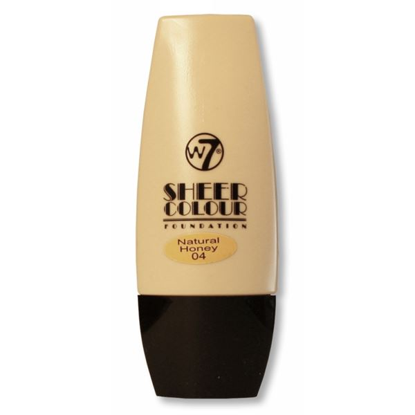 Image of   W7 Sheer Foundation Natural Honey