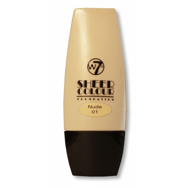 Image of   W7 Sheer Foundation Nude