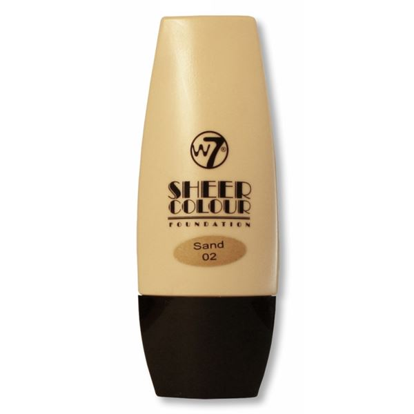Image of   W7 Sheer Foundation Sand
