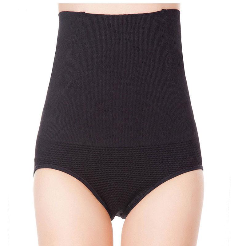 Image of   AVA® Comfort højtaljet shapewear trusse - Sort