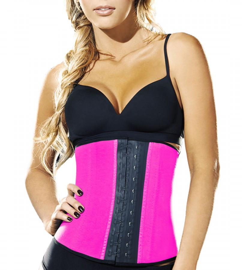 AVA® Waist Trainer i Latex - Pink