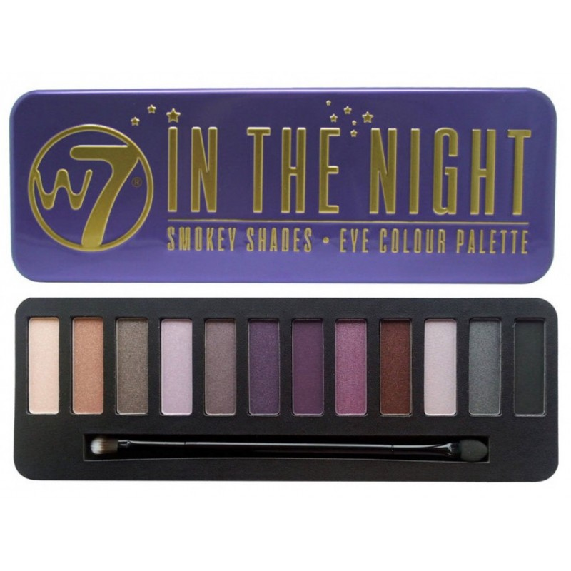 Image of   W7 In The Night Eye Palette øjenskygge