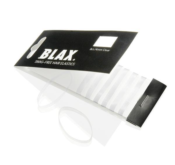 Image of   BLAX Hårelastikker Gennemsigtig / Clear 8 stk